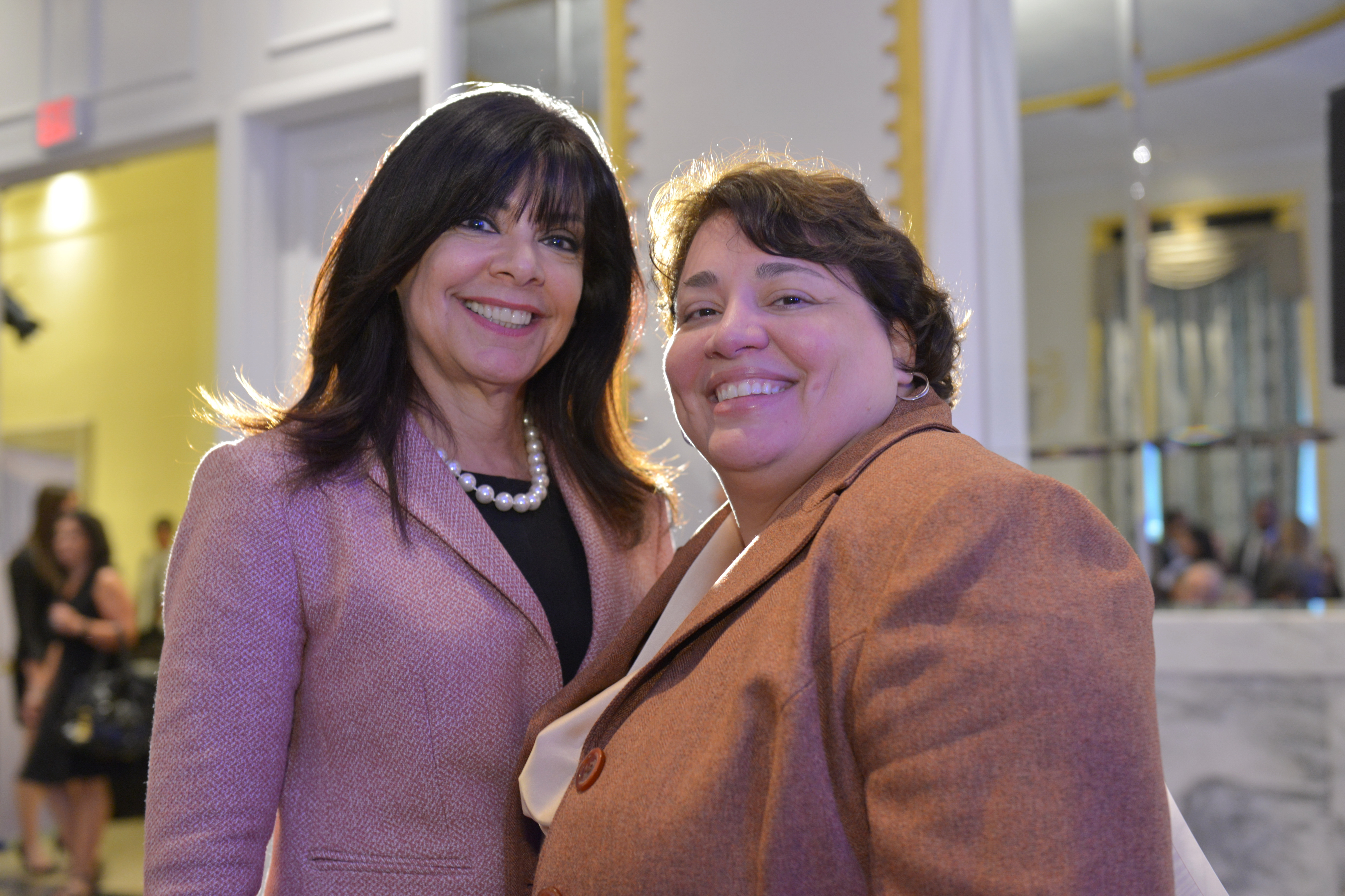 Partner and Collaborate - Maria Harper-Marinick and Deborah Santiago