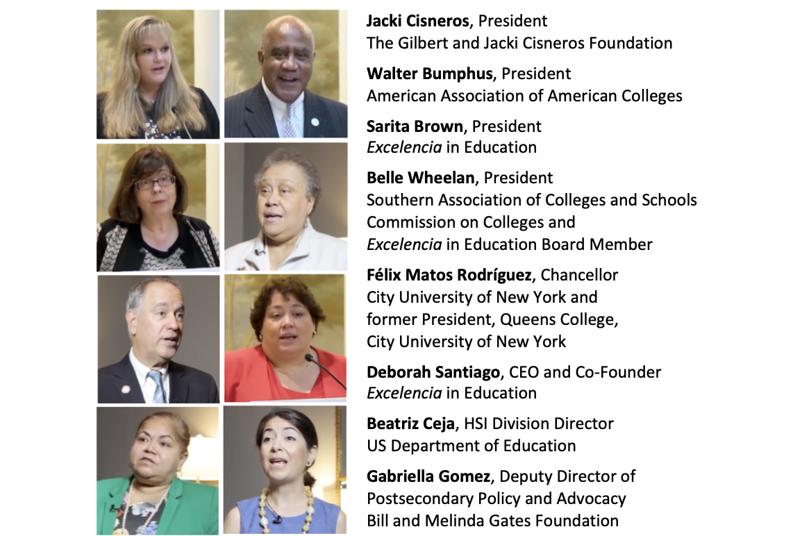 Tiles 4 - Hear from Leaders Supporting the Seal of Excelencia