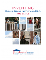 Cover-Inventing Hispanic-Serving Institutions: The Basics