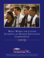 2019 What Works for Latino Students in Higher Education Compendium