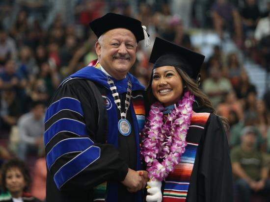 President for Latino Student Success, Tómas Morales, President, California State University San Bernardino