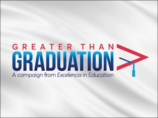 Greater Than Graduation Celebration Graphic
