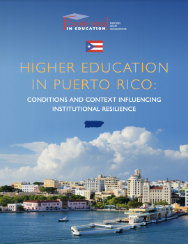 COVER-Higher Education in Puerto Rico