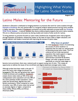 Latino Males: Mentoring for the Future