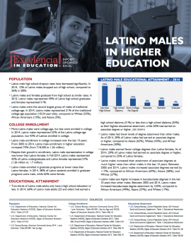 Latino Males in Higher Education