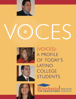 Voces: A Profile of Today's Latino College Students