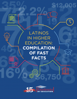 edexcelencia.org - Latinos in Higher Education: Compilation of Fast Facts